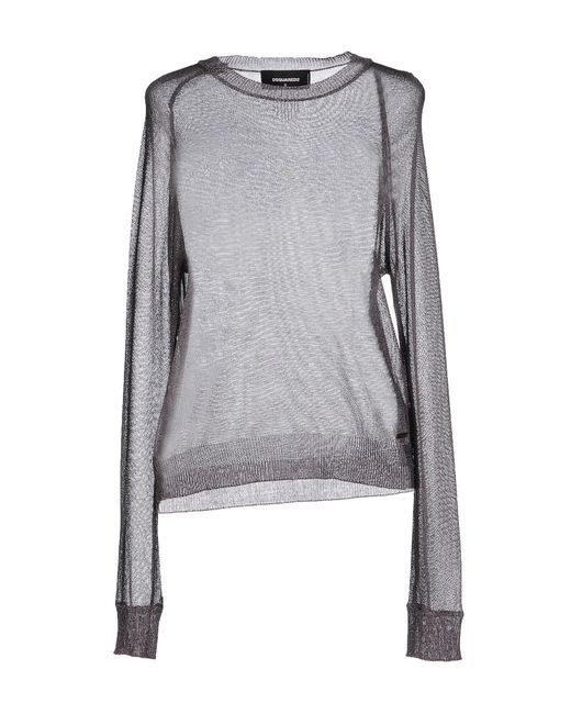 DSquared² - Gray Sweaters - Lyst