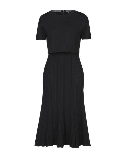 Robe aux genoux Proenza Schouler en coloris Black