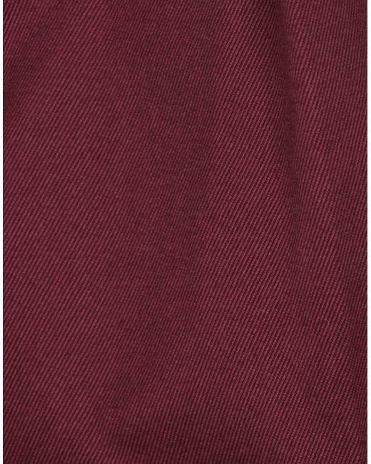 PT01 Pantalon homme de coloris rouge