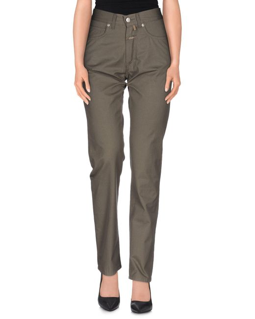 Closed - Green Casual Trouser - Lyst