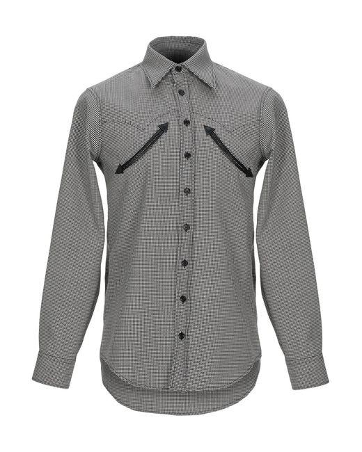Camisa DSquared² de hombre de color Black