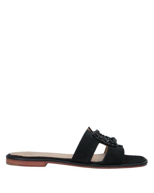 Maliparmi Black Sandals