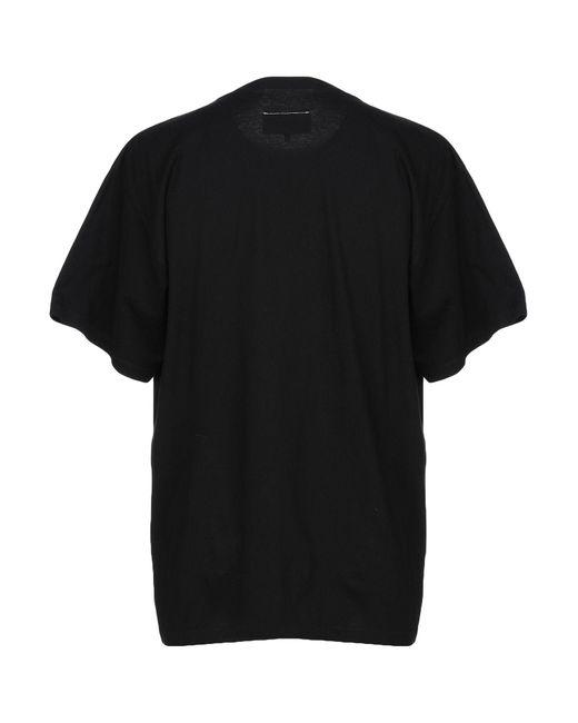 T-shirt di MM6 by Maison Martin Margiela in Black