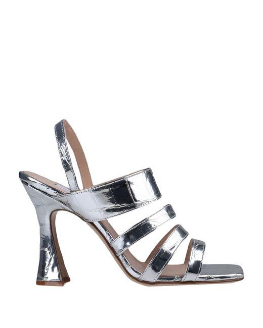 Giampaolo Viozzi Metallic Sandale