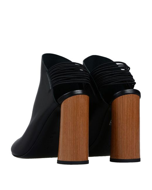 3.1 Phillip Lim Black Drum Slingback Sandal Shoes