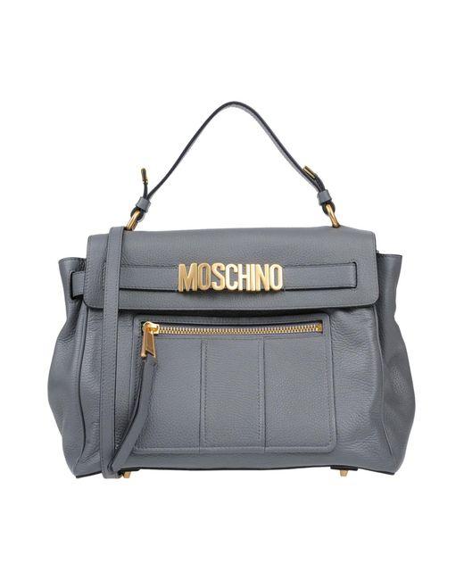Moschino - Gray Handbag - Lyst