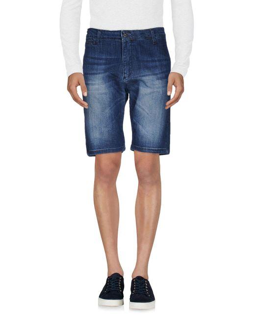 Klixs Jeans - Blue Denim Bermudas for Men - Lyst