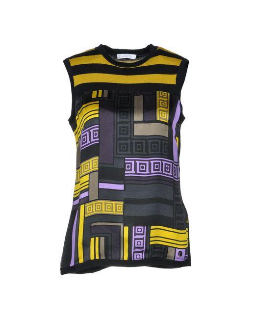 Versace Pullover de mujer de color negro 9wjXZ