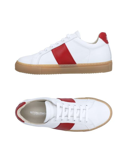National Standard White Low-tops & Sneakers for men