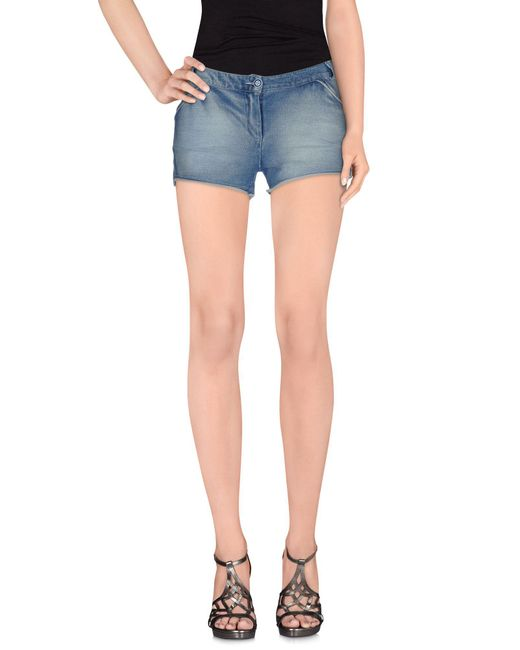 Odi Et Amo - Blue Denim Shorts - Lyst