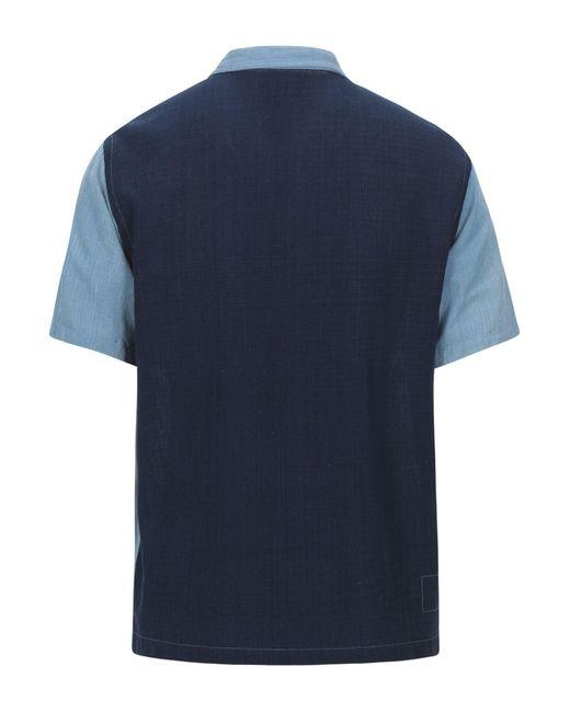 Camicia di Universal Works in Blue da Uomo