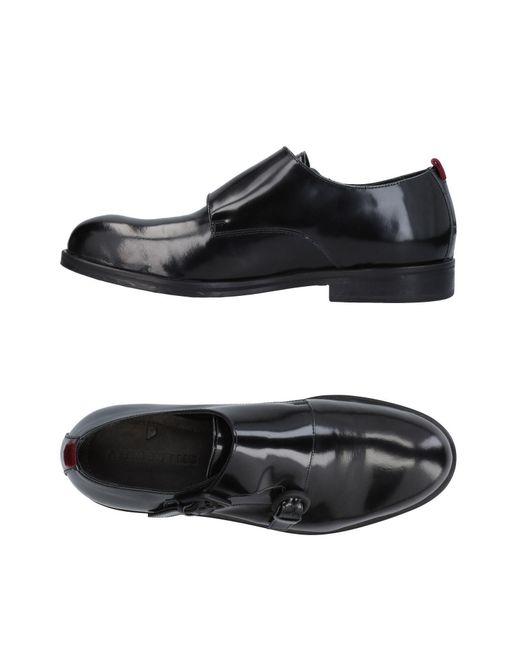 Attimonelli's - Black Loafer for Men - Lyst