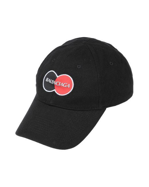 Balenciaga Black Hat for men