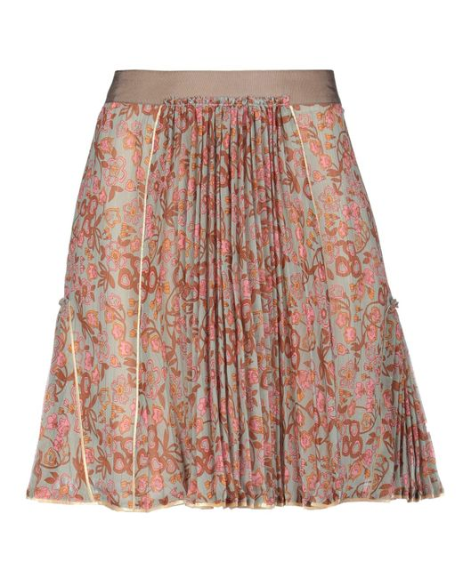COACH Multicolor Mini Skirt