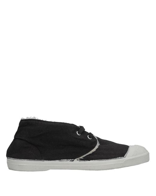 Sneakers abotinadas Bensimon de color Black