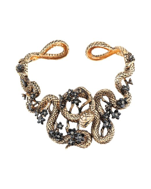 Roberto Cavalli Metallic Necklace
