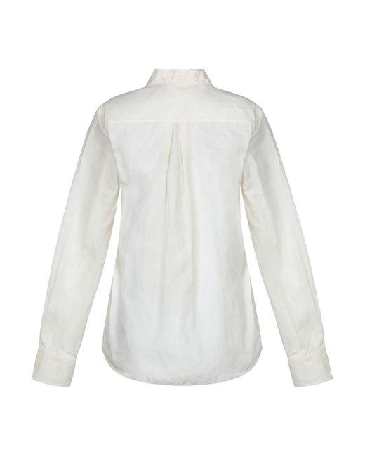 Jil Sander Navy Camisa de mujer de color blanco WNeTT