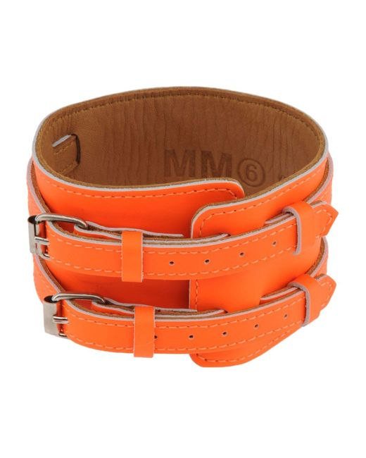 MM6 by Maison Martin Margiela - Orange Bracelet - Lyst