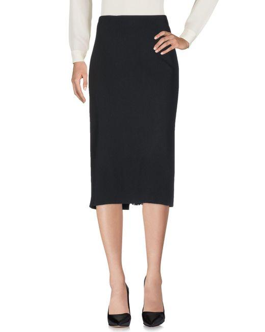 Jean Paul Gaultier - Black 3/4 Length Skirt - Lyst