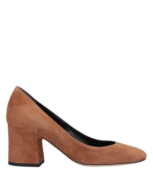 Deimille Zapatos de salón de mujer de color marrón