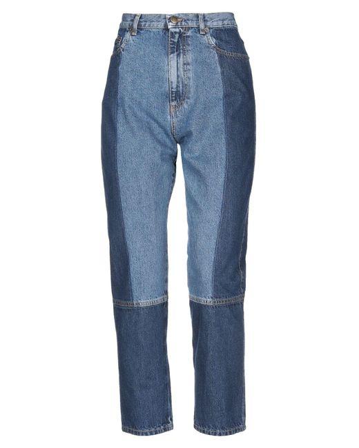 McQ Alexander McQueen Blue Jeanshose