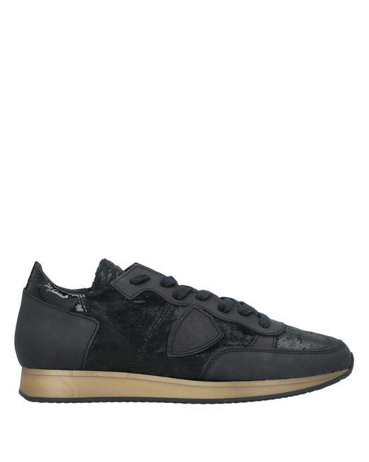 Philippe Model Black Low-tops & Sneakers