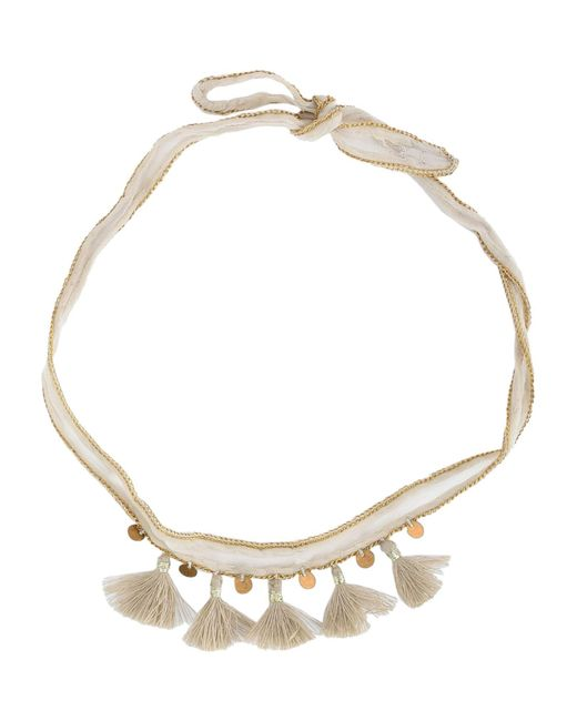 Chan Luu - White Necklace - Lyst