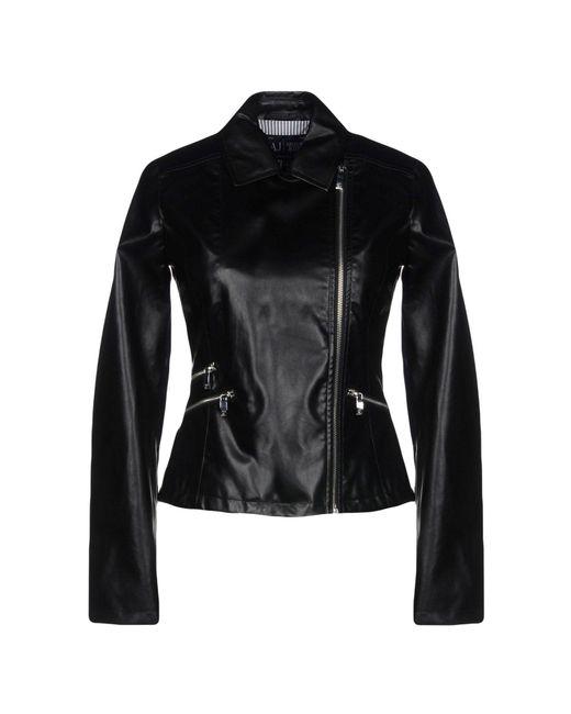 Armani Jeans - Black Jackets - Lyst