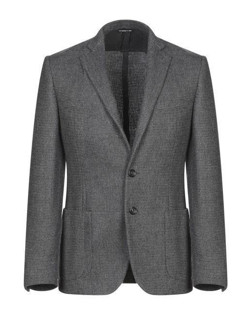 Tonello Gray Suit Jacket for men