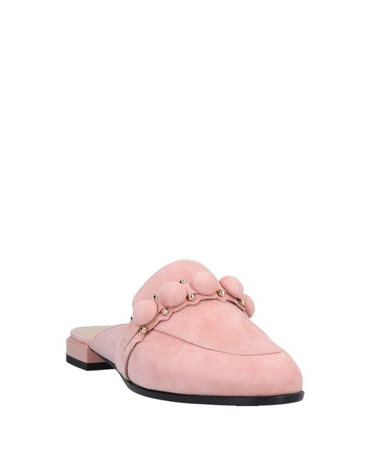 Mules & Zoccoli di Giorgio Fabiani in Pink