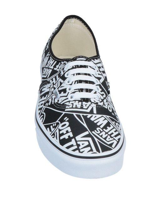 Vans Low Sneakers & Tennisschuhe in Black für Herren