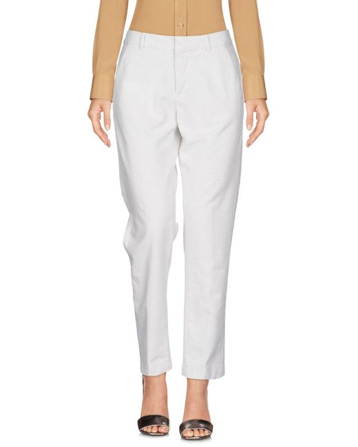 TRUE NYC White Casual Pants