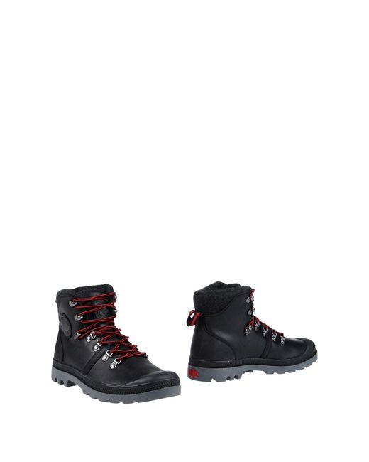 Palladium Black Ankle Boots for men