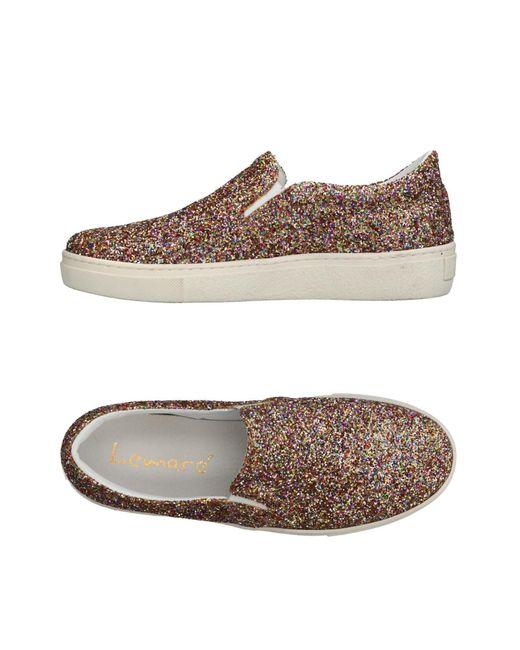 Lemarè - Metallic Low-tops & Sneakers - Lyst