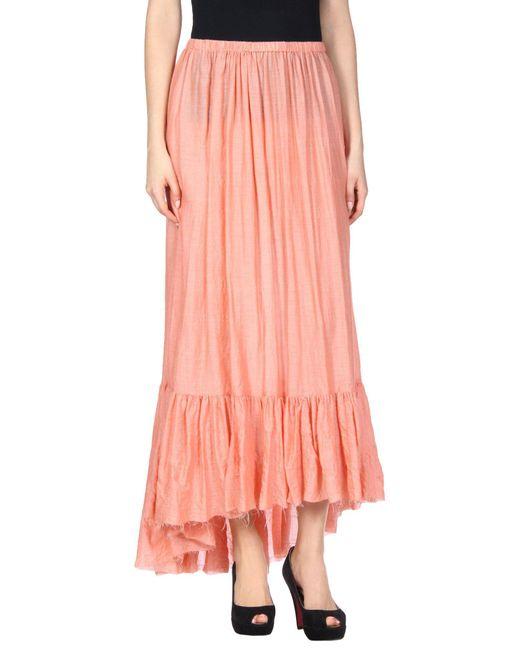 Lisa Marie Fernandez - Pink Long Skirt - Lyst
