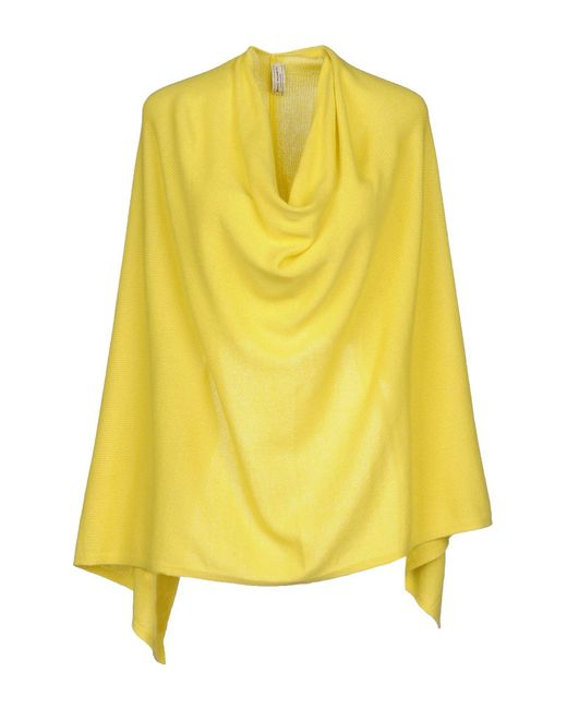 Bruno Manetti - Yellow Capes & Ponchos - Lyst