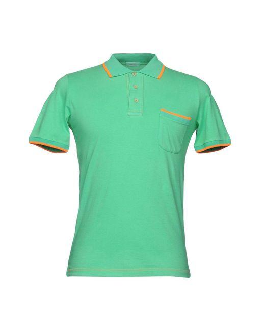 Altea - Green Polo Shirt for Men - Lyst