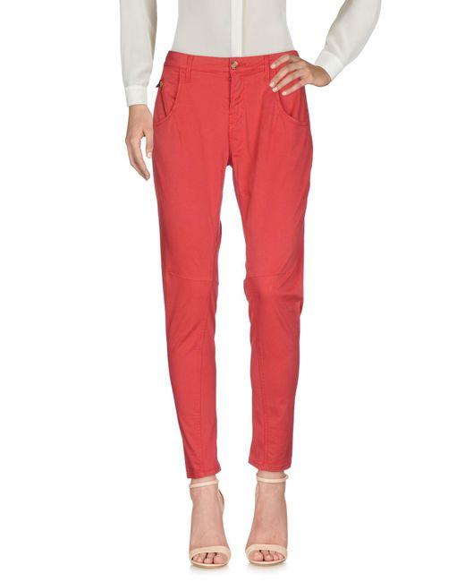 Pantalone di Manila Grace in Red