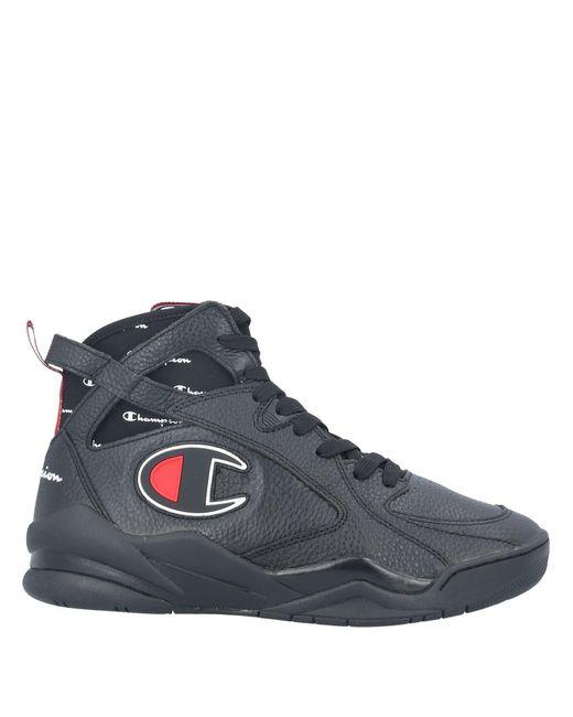 Champion Sneakers abotinadas de hombre de color negro