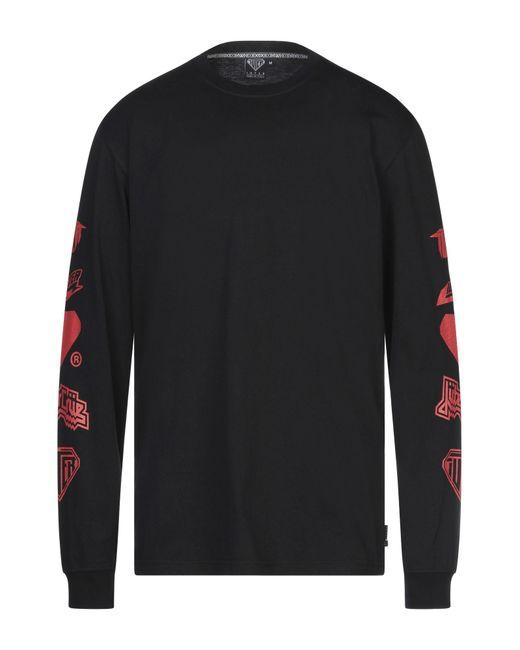 T-shirt di Iuter in Black da Uomo