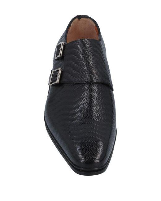 Mocassins Santoni pour homme en coloris Black