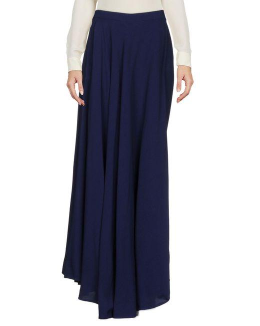 Jean Paul Gaultier - Blue Long Skirts - Lyst