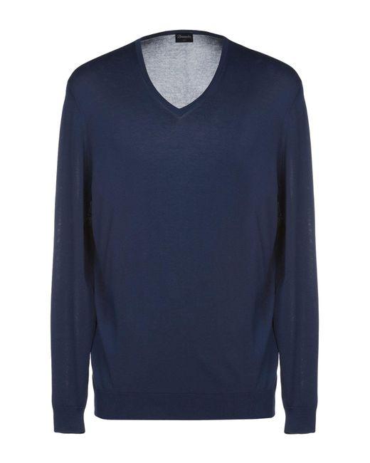 Pullover di Drumohr in Blue da Uomo