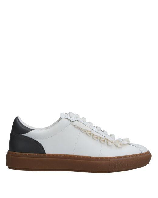 Pinko Gray Low-tops & Sneakers