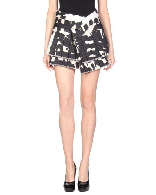 Isabel Marant Black Mini Skirt