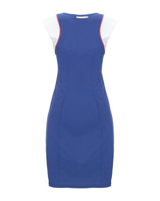 Robe aux genoux Patrizia Pepe en coloris Blue