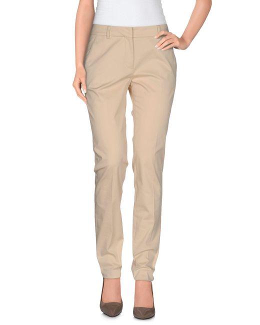 Incotex | Natural Casual Trouser | Lyst
