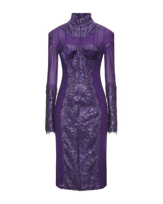 Vestido por la rodilla Tom Ford de color Purple