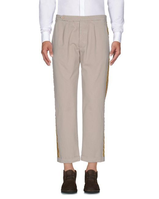 Palm Angels Natural Casual Pants for men