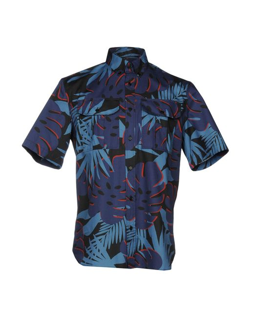 Markus Lupfer - Blue Shirts for Men - Lyst